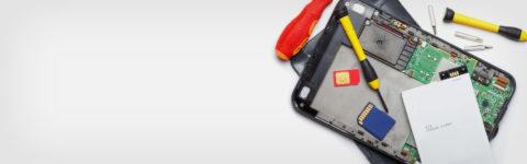 Мы используем передовые технологии для ремонта портативных устройств.